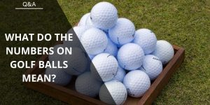 What Do The Numbers on Golf Balls Mean? It's Not What You May Think