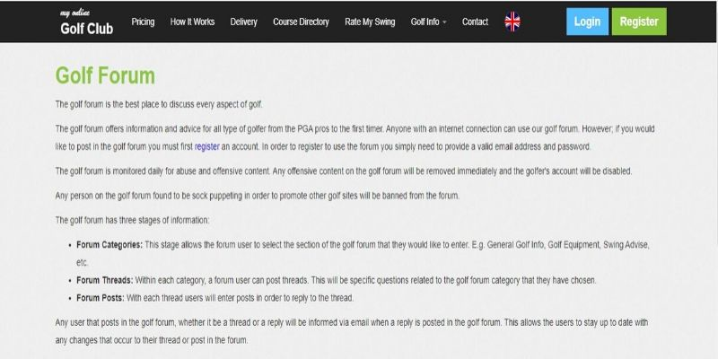 golf-online-forum