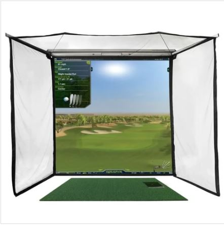 optishot 2 golf simulator package