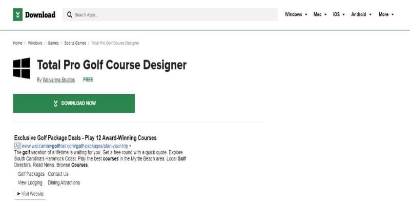 total-pro-golf-design