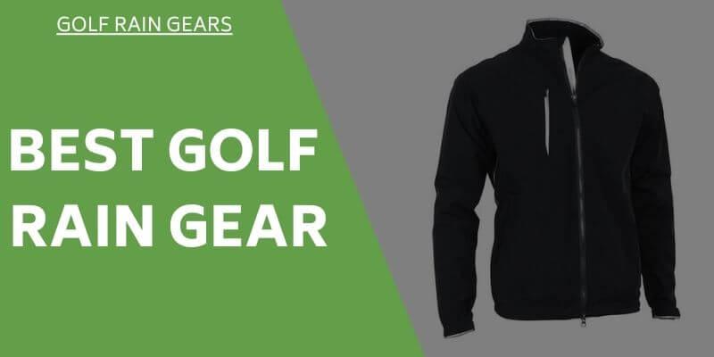 best-rain-golf-gears