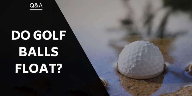do-golf-balls-float